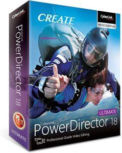 CyberLink PowerDirector 18.0.2725.0 Crack Latest Activation Key 2020