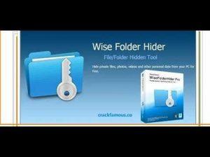 Wise Folder Hider Pro 4.3.4.193 Crack & Activation Key Download 2020
