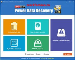 MiniTool Power Data Recovery 8.8 Crack & Serial Key Free Version [2020]